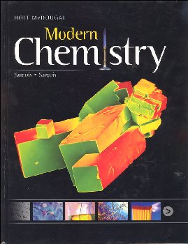 Holt McDougal Modern Chemistry Homeschool Package