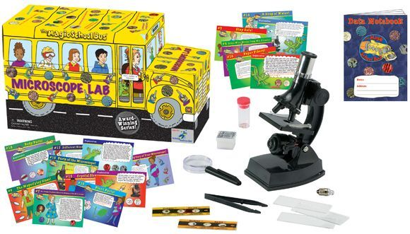Microscope Lab (Magic School Bus)