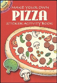 Make Your Own Pizza Sticker Activity Book