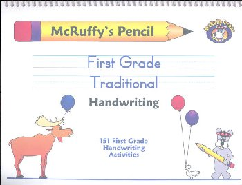 Pencil First Grade Traditional Handwriting Book