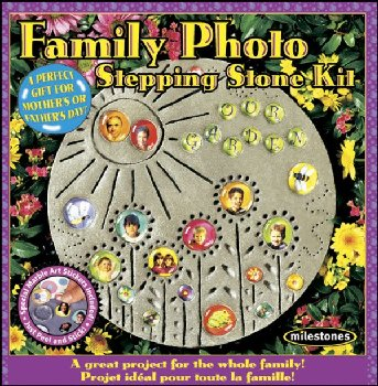 Family Photo Stepping Stone Kit