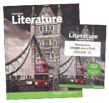 Pearson Literature 12th Grade Homeschool Bundle (2015 Edition)