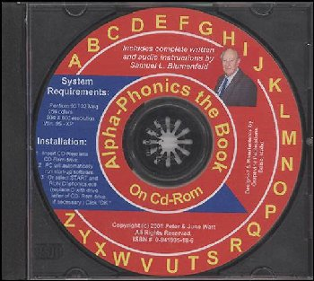 Alpha-Phonics the Book on CD-ROM
