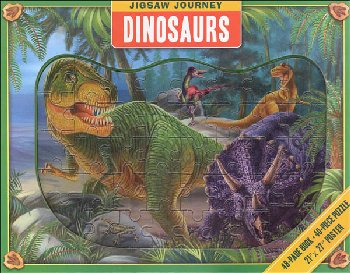 Jigsaw Journey: Dinosaurs