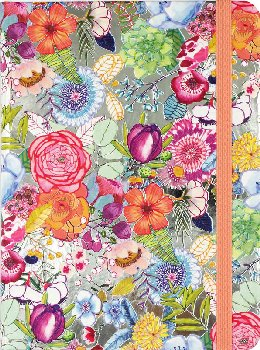 Bright Blossoms Journal (Mid-Size Journal)