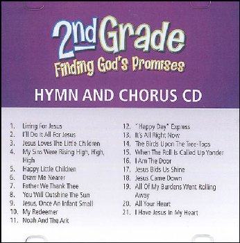 Finding God's Promises 2nd Grade Hymn & Chorus CD