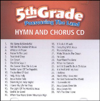 Possessing the Land 5th Grade Hymn & Chorus CD