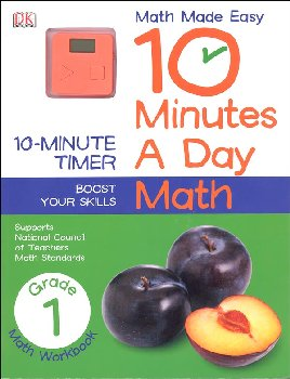 10 Minutes A Day: Math First Grade