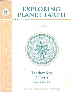 Exploring Planet Earth Teacher Key & Tests (2nd Edition)