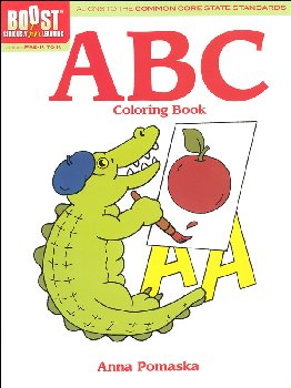 ABC Coloring Book (Boost Series)