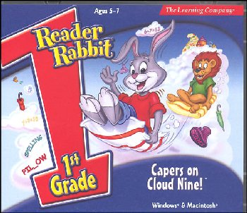 Reader Rabbit 1st Grade CD-ROM: Capers on Cloud Nine