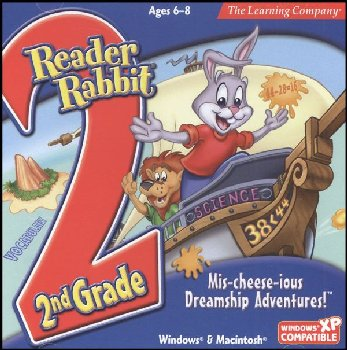 Reader Rabbit 2nd Grade CD-ROM: Mis-cheese-vious Dreamship