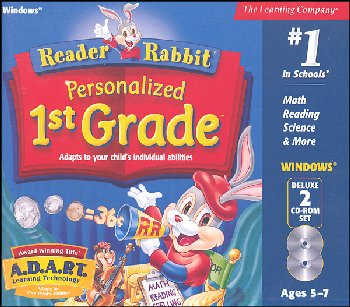 Reader Rabbit Personalized 1st Grade CD-ROMS