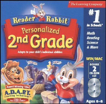 Reader Rabbit Personalized 2nd Grade CD-ROMS