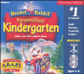 Reader Rabbit Personalized Kindergarten CD-ROMS