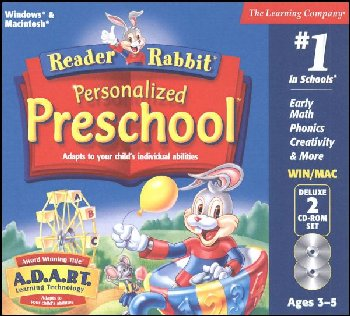 Reader Rabbit Personalized Preschool CD-ROMS