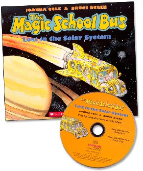 Magic School Bus Lost in the Solar System with CD