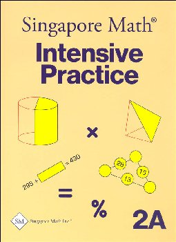 Primary Math 2A Intensive Practice U.S. Edition