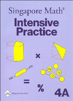 Primary Math 4A Intensive Practice U.S. Edition