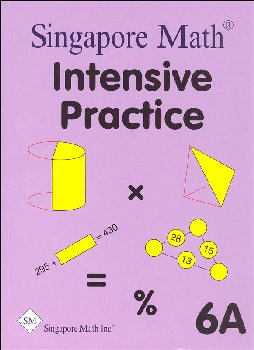Primary Math 6A Intensive Practice U.S. Edition