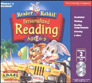Reader Rabbit Personalized Reading Ages 6-9 CD-ROMS