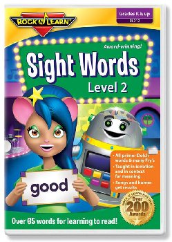 Sight Words Volume 2 DVD