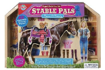 Stable Pals Becca & Shadow Magnetic Dress Ups