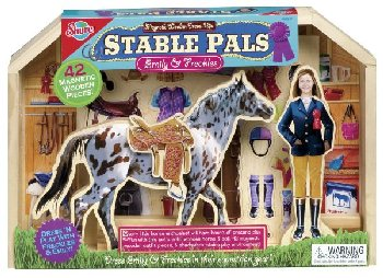 Stable Pals Emily and Freckles Magnetics Dress Ups