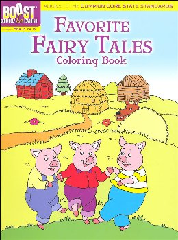 Favorite Fairy Tales Coloring Book (Boost Series)