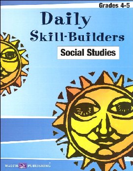 Daily Skill Builders Social Studies Gr 4-5