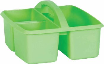 Mint Plastic Storage Caddies