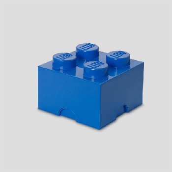 LEGO Storage Brick 4 - Bright Blue