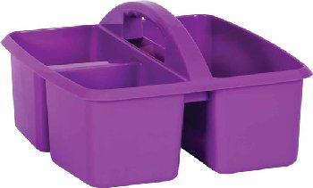 Purple Plastic Storage Caddies