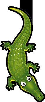 Alligator Bookmark
