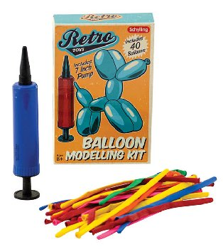 Retro Balloon Animals Kit