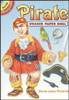 Pirate Sticker Paper Doll