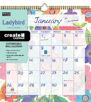 Ladybird Create-it Wall Calendar