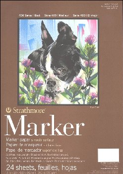 "Marker Paper Pad - 9"" x 12"" (24 sheets)"