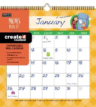 Mom's Create-it Wall Calendar