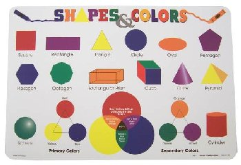 Shapes & Colors Placemat