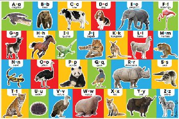 Animal Alphabet Floor Puzzle (24 Pieces)