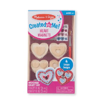 Created by Me! Hearts Magnets