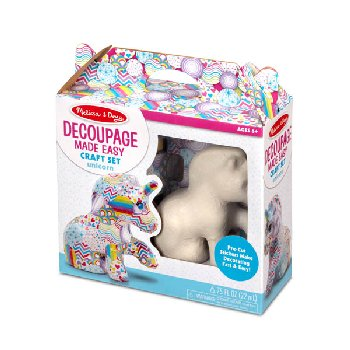Decoupage Unicorn
