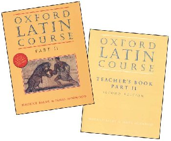 Oxford University Latin Course Part 2 with Teacher Manual