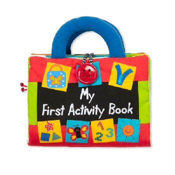 K's Kids Cloth Book - My First Activity Book