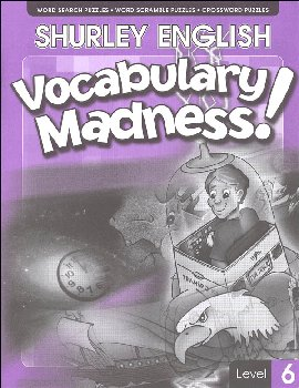 Shurley English Vocabulary Madness Level 6