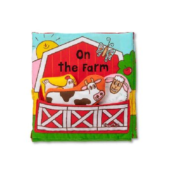 K's Kids Cloth Book - On the Farm
