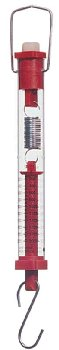 Spring Scale - Red - 2kg/20N