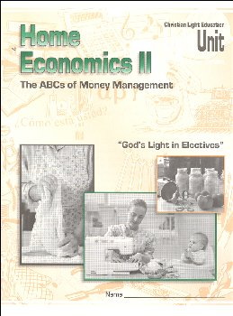 Home Economics II LightUnit Only 4 - ABC's of Money Management