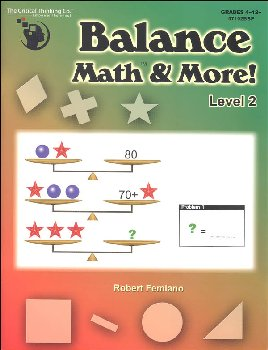 Balance Math & More Level 2